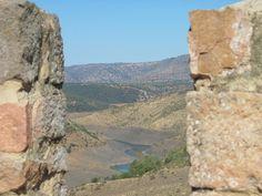 #Jaen - #Baños de la Encina - Embalse de Rumblar desde el Castillo . 38 10 23.57 N 3 46 38.98 W . Foto cortesía de Ginés Collado. El Embalse del Rumblar fue construido en 1841, está situado en el cauce del río Rumblar, formando parte de los municipios de Baños de la Encina, La Carolina y Santa Elena, en la provincia de Jaén. El Rumblar es un río de Sierra Morena y desemboca en el Guadalquivir.