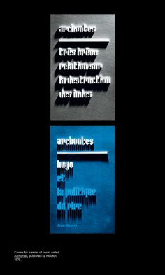 Jurriaan Schrofer — Restless Typographer – a page from the latest in the Spin designed 'Unit Editions'.