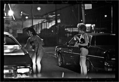 prostitute – Black and White Street Photographs of New York City by Matt Weber New York Photos, Photos Du, New York Street, New York City, Martha Cooper, Black 80s Fashion, Jamel Shabazz, The Happy Hooker, Chauffeur De Taxi