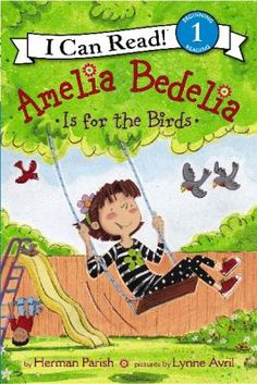 Amelia Bedelia's after-school routine includes playing on her swing set every day, but when she discovers that robins are building a nest atop her slide, she watches them raise a family, instead.