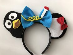 Your place to buy and sell all things handmade Disney Diy, Diy Disney Ears, Disney Bows, Disney Crafts, Mouse Ears Headband, Ear Headbands, Micky Ears, Disneyland Ears, Disney Minnie Mouse Ears