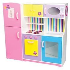 Kids Timber Kitchen Modern Sorbet - Cubby House