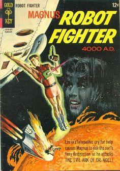 Magnus, Robot Fighter #13