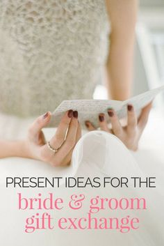 Need ideas for those wedding day gifts? No matter your budget or DIY skills, this list of 23 presents for the bride and groom gift exchange will help!