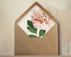 How to: Envelope Liners