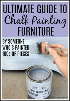 How to Chalk Paint Furniture - Easy DIY Chalk Painting Guide for Beginners - D .How to Chalk Furniture - Simple Guide to Chalk Painting for Beginners - Girl in the Garage DIY Furniture Makeover Furniture Painting Techniques, Painting Tips, Chalk Paint Techniques, Chalk Paint Wax, Chalk Paint Colors Furniture, White Chalk Paint, Waxing Painted Furniture, Best Chalk Paint, Chalk Paint Tutorial