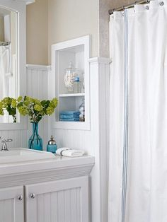 bathrooms with beadboard - Google Search