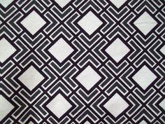 Fitted crib sheet. Black and white geometric print. Crib sheet. Modern baby bedding. Baby nursery bedding