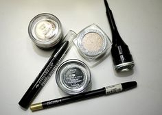 Playing around with my stash…   in a nutshell...#makeup #eotd #MAC #annabelle #gosh #loreal #benefitcosmetics