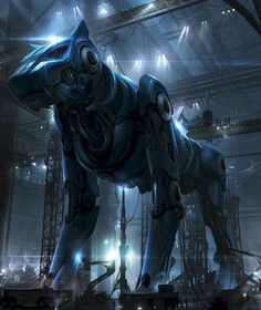 Voltron movie concept art