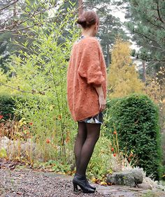 You either love dots 'n' fuzz, or you hate it. This cardigan is knitted in fluffy mohair, and is an obvious favourite in our wardrobe! Leather Skirt, Knitting, Crochet, Skirts, Fashion, Crocheting, Tricot, Fashion Styles, Stricken
