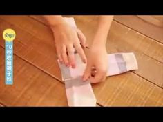 The right way to fold socks! - YouTube