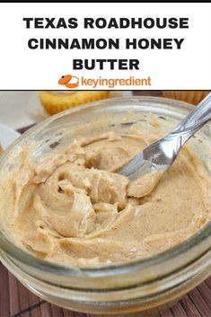 This copycat recipe for Texas Roadhouse Cinnamon Honey Butter is great spread for rolls bagels toast muffins sweet potatoes and more. The post appeared first on Daisy Dessert. Texas Roadhouse Cinnamon Honey Butter Recipe, Honey And Cinnamon, Texas Roadhouse Cinnamon Butter, Texas Roadhouse Rolls, Texas Roadhouse Sweet Potato Recipe, Texas Roadhouse Steak Seasoning, Texas Roadhouse Recipes, Cinnamon Bread, Flavored Butter