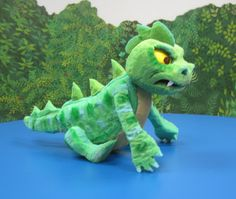 The Lake Monster's happier side! Designed by Randel and ...