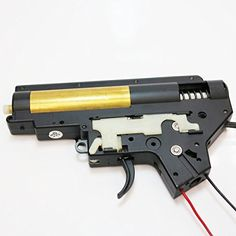 AEG Airsoft Wargame Shooting Gear EC 8mm Complete Gearbox for M4 Version 2 Front Line -- Be sure to check out this awesome product.