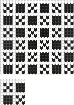 Best 12 Vertical Zigzag Tricksy Knitter Charts: Vertical ZigZag by Alison – SkillOfKing. Knitted Mittens Pattern, Fair Isle Knitting Patterns, Fair Isle Pattern, Knitting Charts, Loom Knitting, Knitting Socks, Knitting Stitches, Stitch Patterns, Organization Ideas