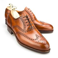 Brown Color Oxford Wing Tip Brogues Toe Real Leather Lace Up.- Brown Color Oxford Wing Tip Brogues Toe Real Leather Lace Up Casual Men Shoes – - Oxford Shoes Outfit, Leather Dress Shoes, Lace Up Shoes, Men's Shoes, Shoe Boots, Shoes Men, Italian Shoes For Men, Brown Brogues, Wingtip Shoes