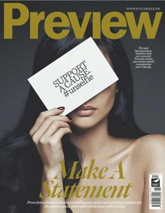 Anne Curtis - Preview Magazine Cover [Philippines] (January 2014)