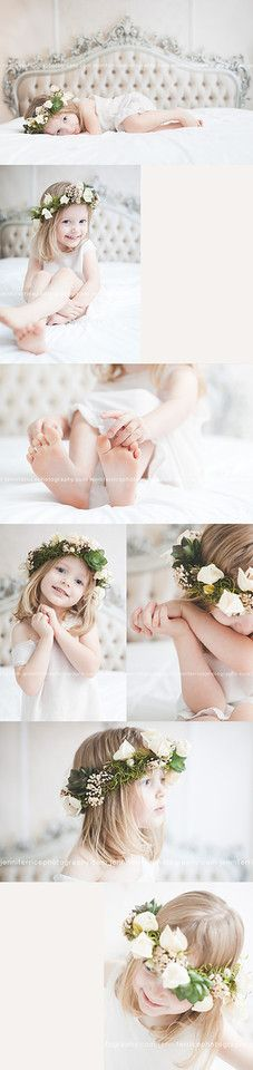 Jennifer Rice Photography | pretty vintage child session, flower crown…