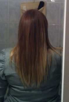My new ombre 3rd or 4th attempt...