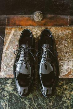 Destination Wedding: A Timeless Parisian Affair. Monika Kandefer & Sebastian Cwik. Photography: Dream Eye Studio Groom's shoes: Magnanni