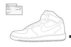 The Sneaker Coloring Book   Coloring book   Pinterest   Coloring ...