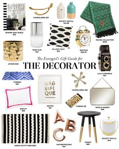 Gifts for the Decorator | The Everygirl's 2014 Holiday Gift Guide #theeverygirl