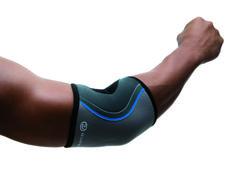 De Rehband elleboogbandage 7720 werkt pijnverlichtend bij overbelasting of ontsteking. De ideale oplossing voor alle ambitieuze atleten.