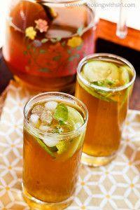 Ginger Honey Ice Tea
