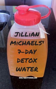 jillian michaels' 7 day detox water