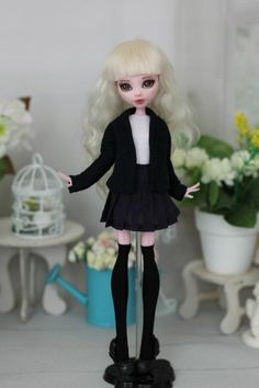 Uniforme escolar de Monster High / EAH / Blythe / por ElenaShowRoom