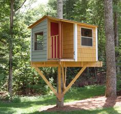 San Pedro treehouse DIY plans to fit a single by TreehouseGuides