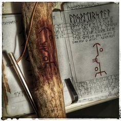 Pole for summoning waterspirits. If you like my work, please help me with support, by going to my Facebook for more content: http://www.facebook.com/Skrethi/ #galdrastafir #pagan #paganism #heathen #asatru #vikings #magick #stavsigil #sigils #sigil #seidr #galdra #galder #galdur #bindrune #bindrunes #ræveðis #lønruner #witchcraft #galdr #occult #waterspirit