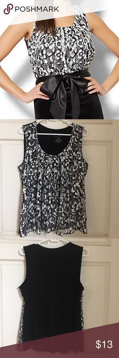 NY&Co Layered Shell. Size XL Worn only once! From NY&Company. Bought for $54 Size XL. True to size Bundle to save on shipping! New York & Company Tops Blouses