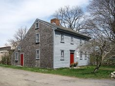 Reverend James Keith Parsonage, West Bridgewater MA - Category:Built in Massachusetts in 1662 - Wikimedia Commons John Phelan - Own work