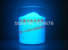 Find More Nail Glitter Information about Free Shipping sky blue  LED luminescent powder phosphor powder,DIY , 100g/bag,Environmental protection,advertisement pigment,High Quality Nail Glitter from Allen du's store on Aliexpress.com