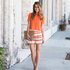 Street style tip of the day: Tangerine dreams