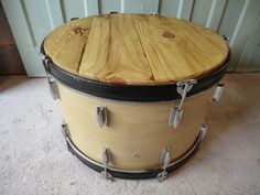 Unique Bass Drum Coffee Table 4