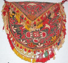 yurt decoration and bag from Kyryzstan