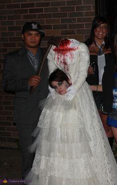 Decapitated Bride - Halloween Costume Contest