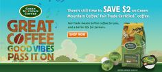 Really good, fair trade certified coffee.  #GotItFree - as a Buzz agent I got a free sample - and it was wonderful.