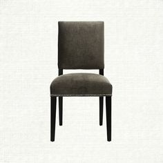 A delectable accompaniment to any well-dressed dining space, this distinctive chair combines clean lines with dazzling fabric to deliver undeniable s