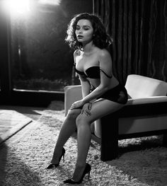 Emilia Clarke by Vincent Peters for Esquire, November 2015