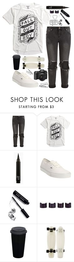 """""""THE TORTURE OF SMALL TALK"""" by retalleyation ❤ liked on Polyvore featuring OneTeaspoon, Vans, Bobbi Brown Cosmetics, Maison Margiela and BOBBY"""
