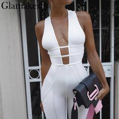 image of wearing white jumpsuit from oh polly - Awesome Fall Outfits To Update Your Wardrobe All White Outfit, White Outfits, Fall Outfits, Outfit Winter, Dressy Outfits, Mode Outfits, Fashion Outfits, Womens Fashion, Dress Fashion