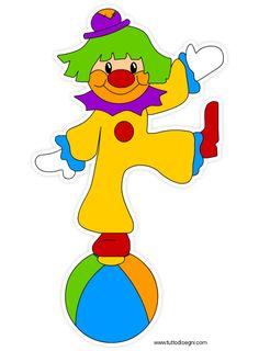 Immagini Di Carnevale Colorate Pagliaccio Circus Pinterest