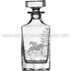 Run 4 Roses Clear Decanter Whiskey Decanter, Luxury Candles, Budapest, Vodka Bottle, Tumbler, Candle Holders, Perfume Bottles, Roses, Crystals
