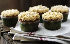 Gingerbread Cupcakes With Salted Caramel Icing (1) From: BBC Food, please visit