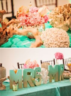 VIRGINIA BEACH WEDDING, Macon Photography, Style by Design, coral mint and gold wedding, www.sbdva.com