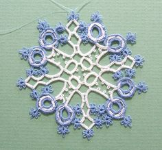 Needle Tatting for Absolute Beginner | Needle Tatting Instructions | many patterns needle tatting patterns ...